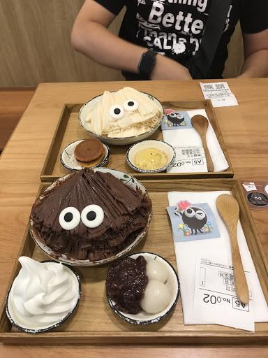 2017/6/9花生+巧克力 第二次來 ,花生很特別鹹鹹甜甜~巧克力偏苦