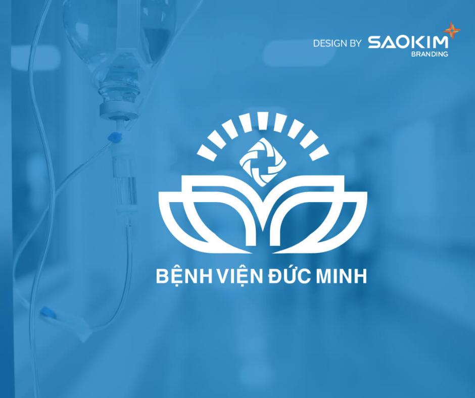 [Saokim.com.vn] Logo Bệnh viện Đức Minh thiết kế bởi Sao Kim Branding