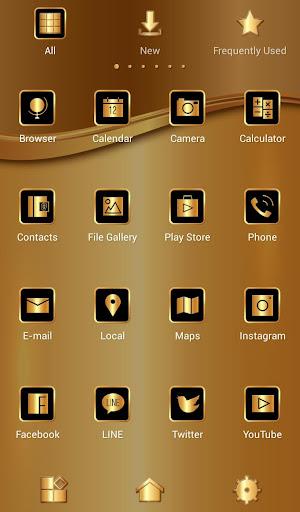 壁纸·图标 香槟金|玩個人化App免費|玩APPs