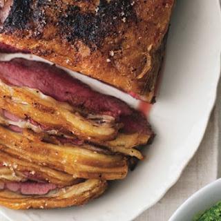 Roast Sirloin of Beef.