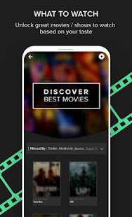 Download Flixjini (Beta) - Discover movies & shows to watch For PC Windows and Mac apk screenshot 2
