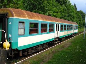 Photo: Duszniki Zdrój: wagon Bh w składzie pociągu 3313 relacji Kłodzko Główne - Kudowa Zdrój.