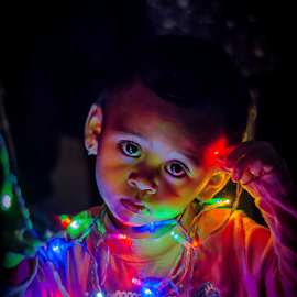 Rainbow eyes by Kriswanto Ginting's - Babies & Children Child Portraits