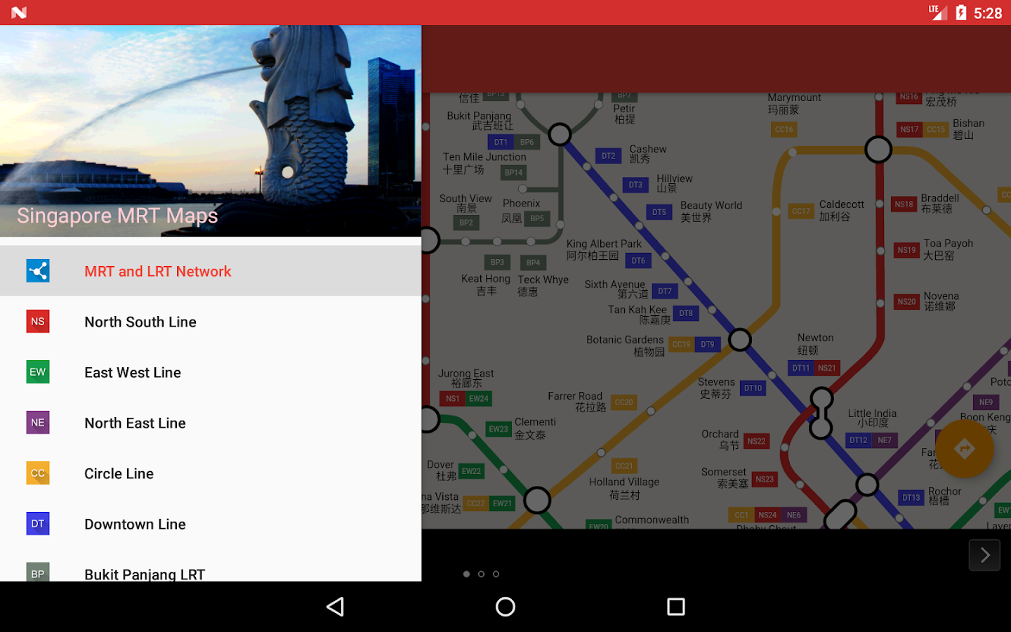 Trainsity Singapore MRT- screenshot