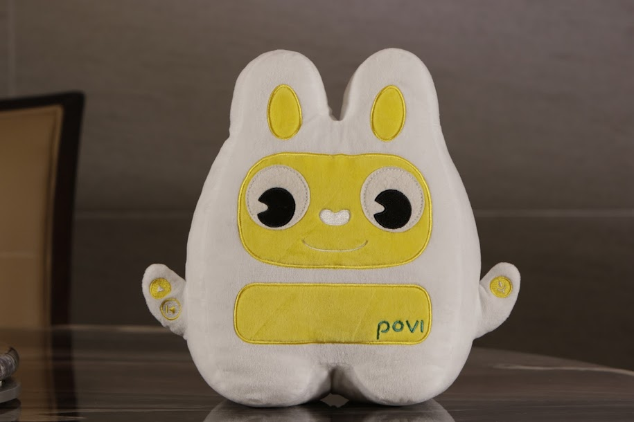 Povi is the new EQ toy to help you discuss emotions with your child
