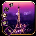 Golden Paris Eiffel Launcher icon