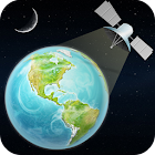 Global Satellite Live Weather Forecast Earth Map icon