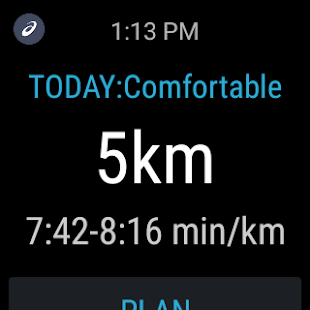 MY ASICS Run Training: miniatura de captura de pantalla