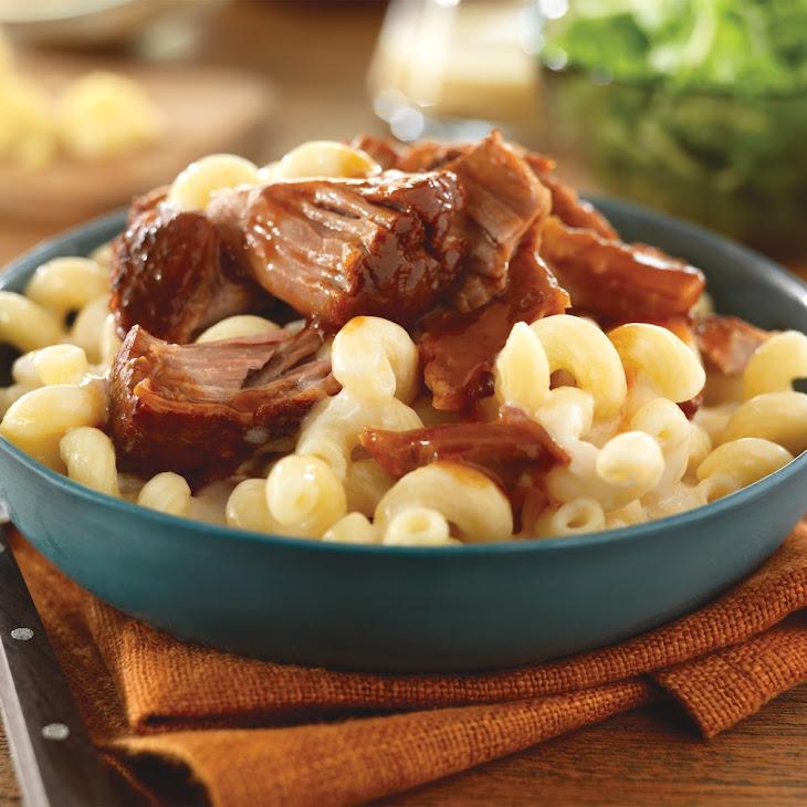 BBQ Pork Mac n' Cheese