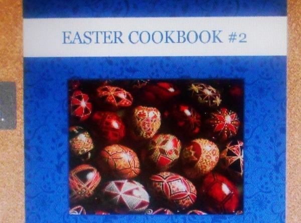 2013 EASTER  COOKBOOK # 2