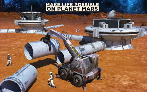 Space Station Construction City Planet Mars Colony painmod.com screenshots 7