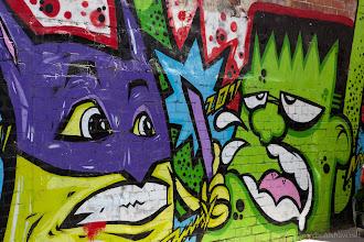 Photo: Colourful wall