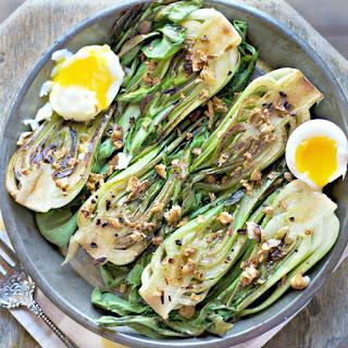 Garlic Bacon Bok Choy