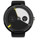 Material Pi Watch Face - π icon