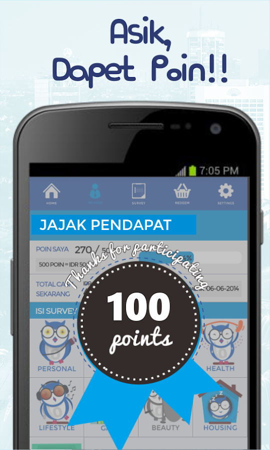JAKPAT Answer survey and get Airtime- screenshot