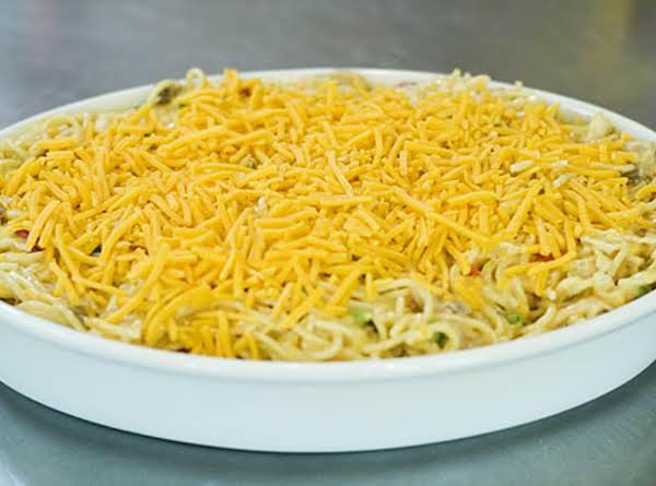 Chicken Spaghetti Casserole Recipe