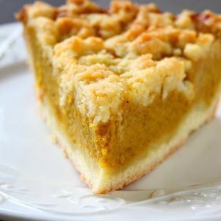 Salted Pumpkin Crumb Pie