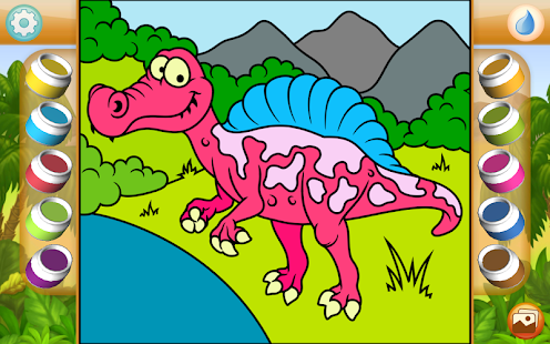 Dinosaurs Coloring Game PRO Screenshot Thumbnail
