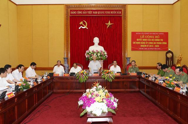 Description: Tổng Bí thư Nguyễn Phú Trọng phát biểu tại Lễ công bố. Ảnh: Trí Dũng - TTXVN