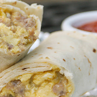 Camping Breakfast Burritos