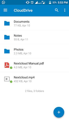 Cloud Drive 1.4.2 screenshots 2