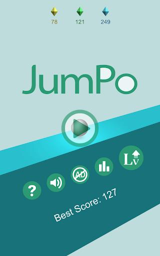 JumPo - 3Dジャンプボールゲーム|玩街機App免費|玩APPs