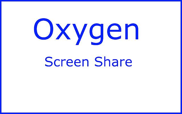 Oxygen Desktop Streamer