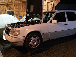 Eクラス ステーションワゴン W124 ターボディーゼルのカスタム事例画像 ヨーソローさんの2019年01月13日21:41の投稿
