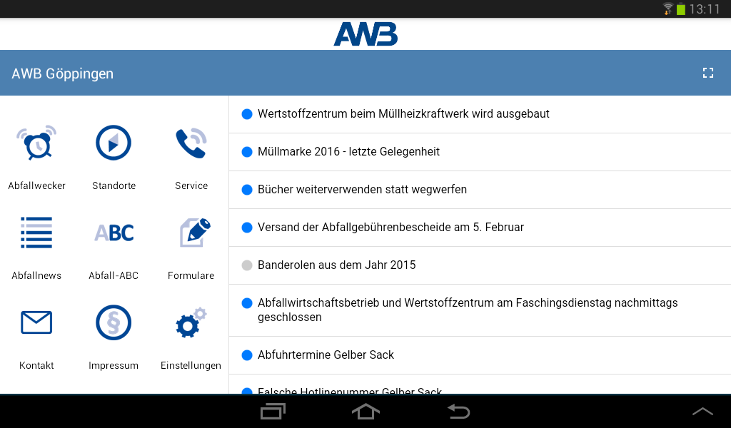 AWB Göppingen- screenshot