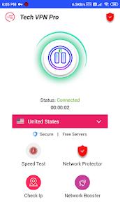 Tech VPN Pro / Premium VPN, No Subscription No Ads 6