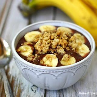 Classic Acai Bowl (Vegan, Gluten-Free, Dairy-Free, No Refined Sugar).