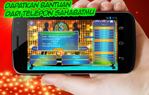 Kuis Millionaire Indonesia HD for PC