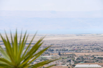 Photo: View over Jericho and the Dead Sea