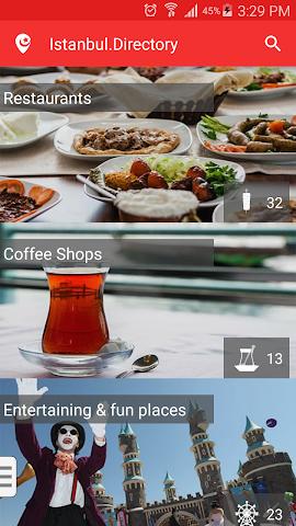 Screenshot 1 Istanbul Directory