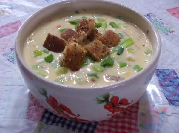 Peggi's Cheesy Beer Soup Recipe
