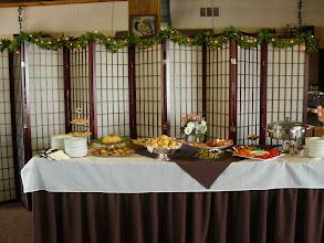 Photo: appetizer buffet