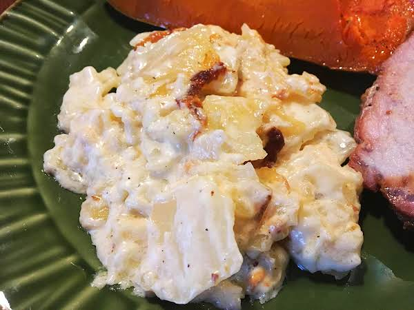 ~  White Cheddar Scalloped Potatoes ~ My Way