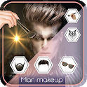 Man Makeup Maker icon