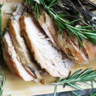 Rosemary Slow Cooker Pork Roast