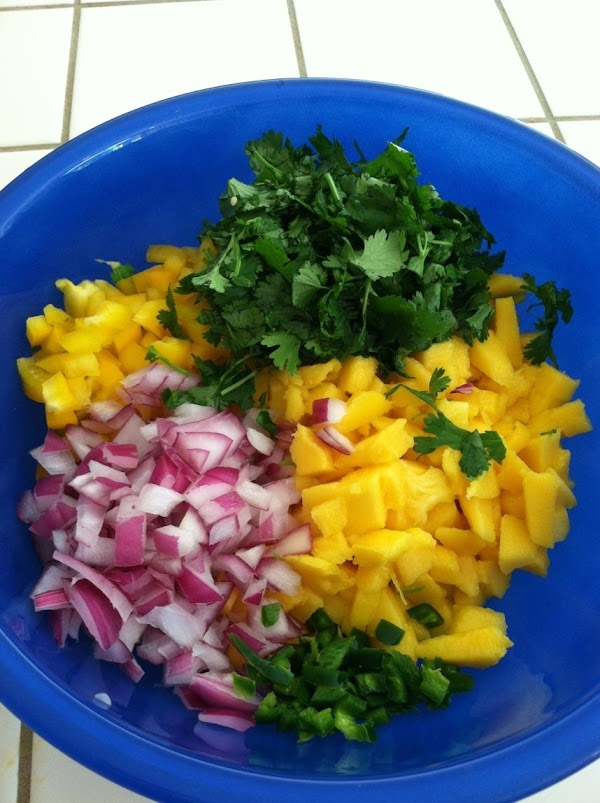 Combine all ingredients in a blow and mix well.  Refrigerate until ready to...