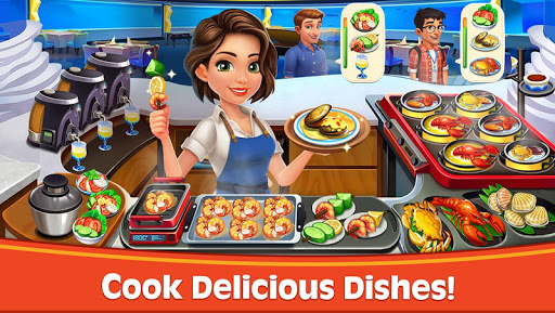 Cooking Rush - Chef's Fever Games  screenshots 1