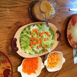 Jesse's Ginger Salad Dressing.