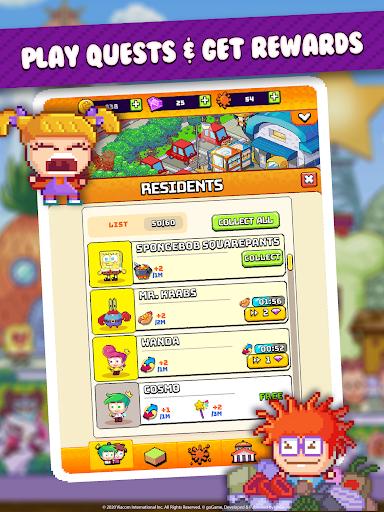 Nickelodeon Pixel Town 1.3.6 screenshots 12