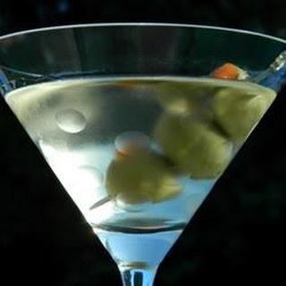Vodka Martini Cocktail.