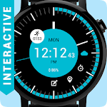 Cool Circle watch face Icon