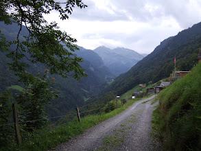 Photo: Approaching Weisstannen