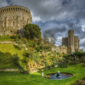 From Windsor Castle by Krasimir Lazarov - Buildings & Architecture Public & Historical ( fortress, historic buildings, buildings, tourism, historic district, castle, historical, windsor castle, united kingdom, travel locations )