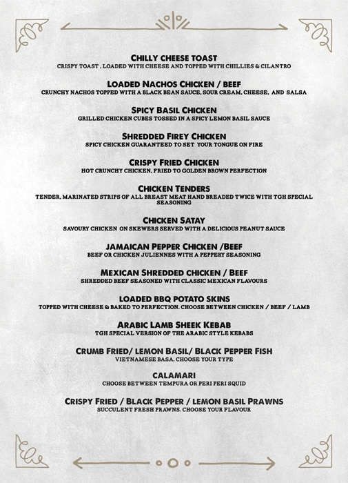 The Grill House menu 16