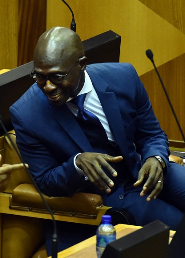 Malusi Gigaba. File photo: ELMOND JIYANE