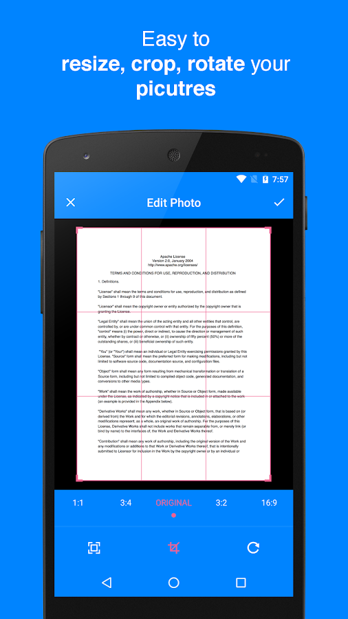 Camera Scanner - PDF Doc Scan- screenshot